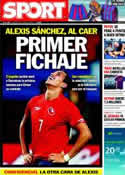 Portada diario Sport del 19 de Junio de 2011