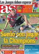 Portada diario AS del 20 de Junio de 2011