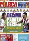 Portada diario Marca del 20 de Junio de 2011