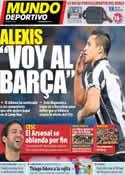 Portada Mundo Deportivo del 20 de Junio de 2011