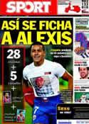 Portada diario Sport del 21 de Junio de 2011
