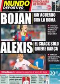 Portada Mundo Deportivo del 22 de Junio de 2011