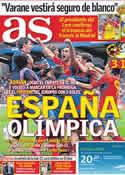 Portada diario AS del 23 de Junio de 2011