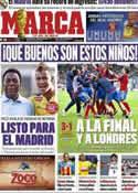 Portada diario Marca del 23 de Junio de 2011