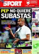 Portada diario Sport del 23 de Junio de 2011