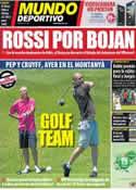 Portada Mundo Deportivo del 23 de Junio de 2011