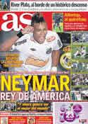 Portada diario AS del 24 de Junio de 2011