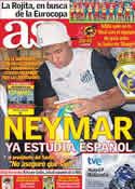 Portada diario AS del 25 de Junio de 2011
