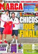 Portada diario Marca del 25 de Junio de 2011