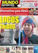 Portada Mundo Deportivo del 25 de Junio de 2011