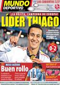 Portada Mundo Deportivo del 26 de Junio de 2011