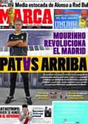 Portada diario Marca del 27 de Junio de 2011