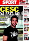 Portada diario Sport del 27 de Junio de 2011