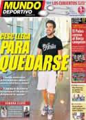Portada Mundo Deportivo del 27 de Junio de 2011