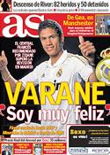 Portada diario AS del 28 de Junio de 2011