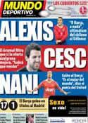 Portada Mundo Deportivo del 28 de Junio de 2011