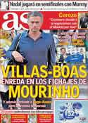 Portada diario AS del 30 de Junio de 2011