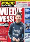 Portada Mundo Deportivo del 1 de Julio de 2011
