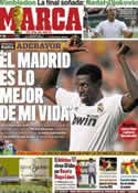 Portada diario Marca del 2 de Julio de 2011