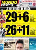 Portada Mundo Deportivo del 2 de Julio de 2011