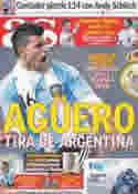 Portada diario AS del 3 de Julio de 2011
