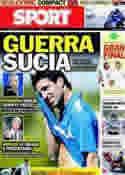 Portada diario Sport del 3 de Julio de 2011
