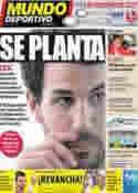 Portada Mundo Deportivo del 3 de Julio de 2011