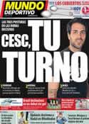 Portada Mundo Deportivo del 4 de Julio de 2011