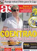 Portada diario AS del 5 de Julio de 2011