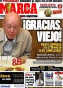 Portada diario Marca del 5 de Julio de 2011