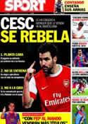Portada diario Sport del 6 de Julio de 2011