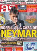 Portada diario AS del 7 de Julio de 2011