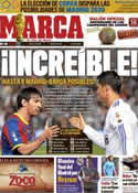 Portada diario Marca del 7 de Julio de 2011