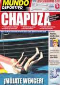 Portada Mundo Deportivo del 7 de Julio de 2011
