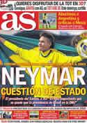 Portada diario AS del 8 de Julio de 2011