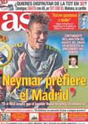 Portada diario AS del 9 de Julio de 2011