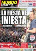 Portada Mundo Deportivo del 10 de Julio de 2011