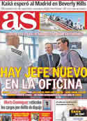 Portada diario AS del 12 de Julio de 2011