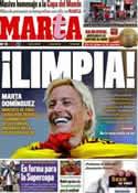 Portada diario Marca del 12 de Julio de 2011