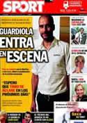 Portada diario Sport del 12 de Julio de 2011