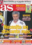 Portada diario AS del 13 de Julio de 2011