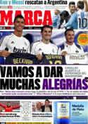Portada diario Marca del 13 de Julio de 2011