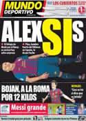 Portada Mundo Deportivo del 13 de Julio de 2011