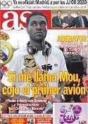 Portada diario AS del 14 de Julio de 2011