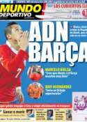 Portada Mundo Deportivo del 14 de Julio de 2011