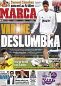 Portada diario Marca del 15 de Julio de 2011