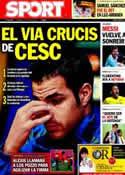 Portada diario Sport del 15 de Julio de 2011