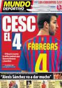 Portada Mundo Deportivo del 15 de Julio de 2011