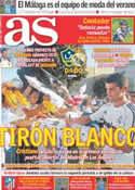 Portada diario AS del 16 de Julio de 2011