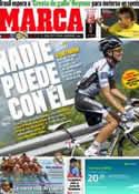 Portada diario Marca del 17 de Julio de 2011